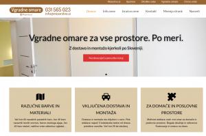 Primer optimiziranja strani za pohištveno lead generation spletno stran